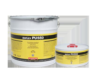 ISOFLEX PU 550 Solvent-free liquid polyurethane polyurethane mebrane by ISOMAT