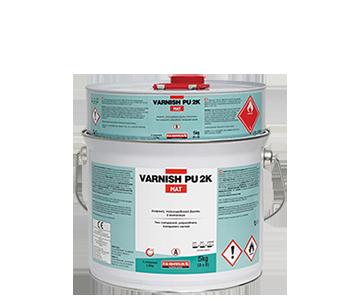 VARNISH PU 2K Mat Polyurethane Varnish by ISOMAT PU Systems