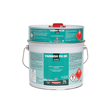VARNISH PU 2K Gloss Polyurethane Varnish by ISOMAT PU Systems